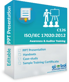 ISO 17020 Auditor Training PPT Presentation by Globalmanagergroup