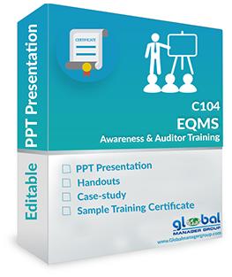 QMS EMS Auditor Training ppt presentation - 2015