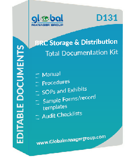 BRC Global Standard for Storage and Distribution documents