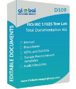 ISO/IEC 17025 Document