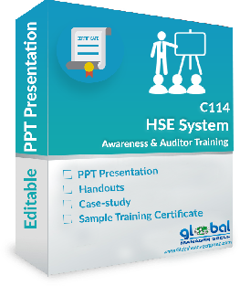 HSE Auditor Training ppt presentation - 2015