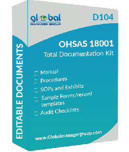 ohsas 18001 documents with manual procedures checklists by rh globalmanagergroup com ISO 18001 Standard PDF ISO 18001 PDF
