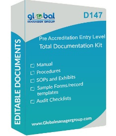 Pre Accreditation Entry Level for Small Healthcare Organization Documentation Kit